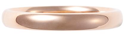 ピンクーゴールドの指輪